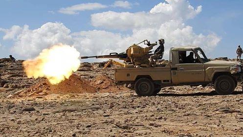هجوم حوثي غرب مأرب