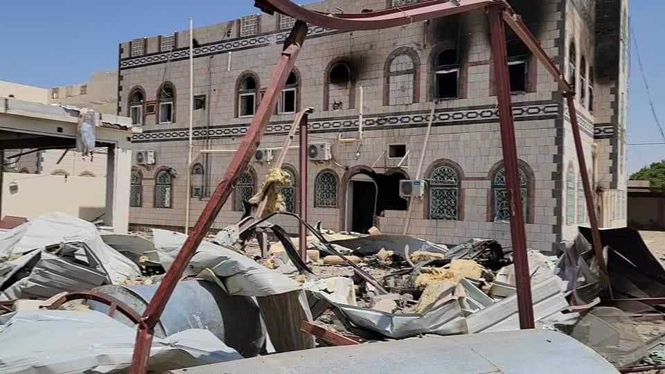 قصف صاروخي حوثي